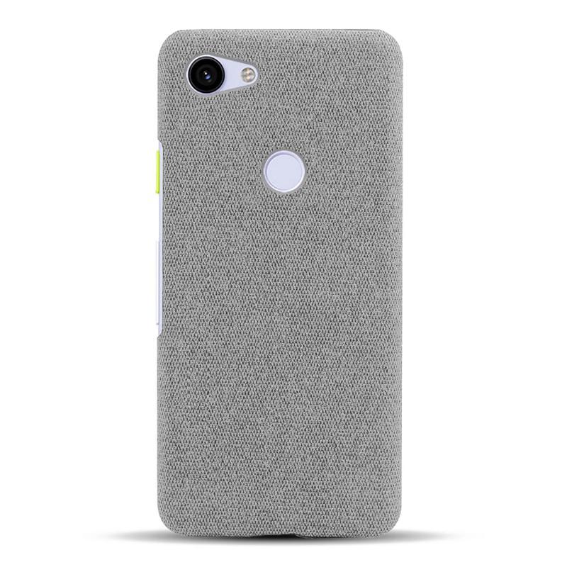 防摔 防撞 保護殼❁google pixel 3a手機殼布紋適用 pixel3Axl護套布面織物官方同款