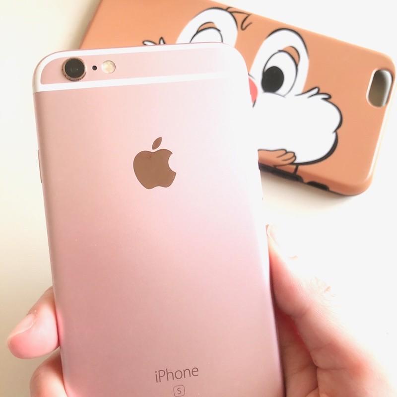 稀少美品 台積電晶片 iPhone6S 64g 玫瑰金 女用TSMC 送藍芽耳機