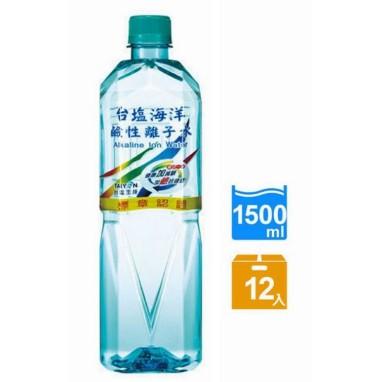台鹽海洋鹼性離子水1500ml一箱/12入
