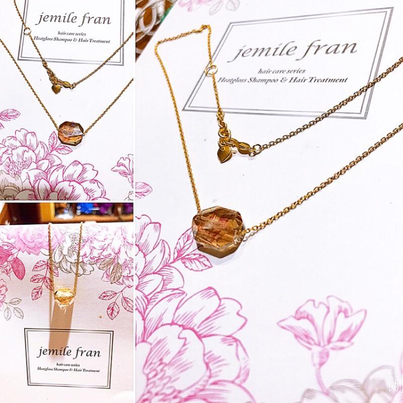 黃金水晶串珠項鍊-黃金重量0.73錢