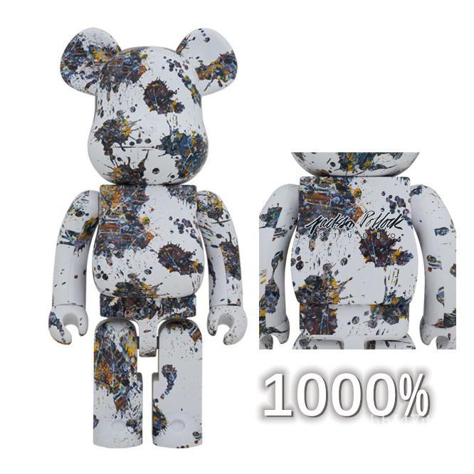 【日本進口-免運】潑墨1000% Jackson pollock studio splash暴力熊-庫柏力克熊