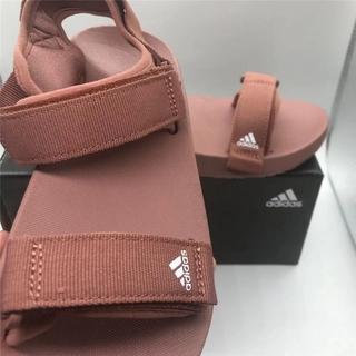 2021夏季新款ADIDAS涼鞋 沙灘透氣魔術貼拖鞋 ADILETTE SANDAL W男女涼鞋人字拖時尚拖鞋