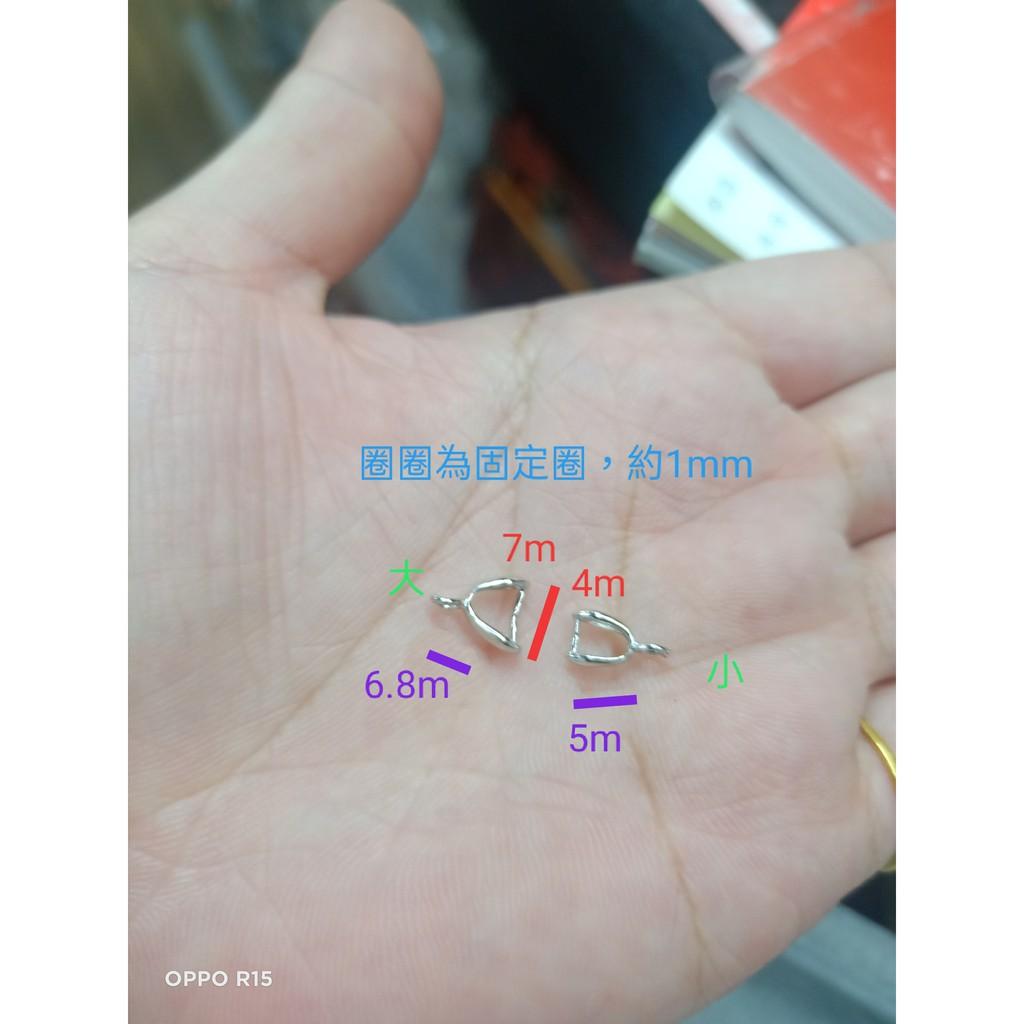 遇見~922純銀 DIY材料 夾扣 配件 單顆 手作 手作配件 純銀配件