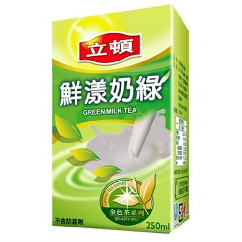 立頓 鮮漾奶綠(250mlx24包/箱)[大買家]