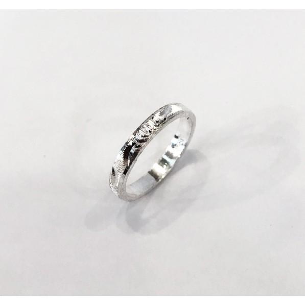 白銀造型戒指【戒圍#6】–「金勝銀樓」廣東門市