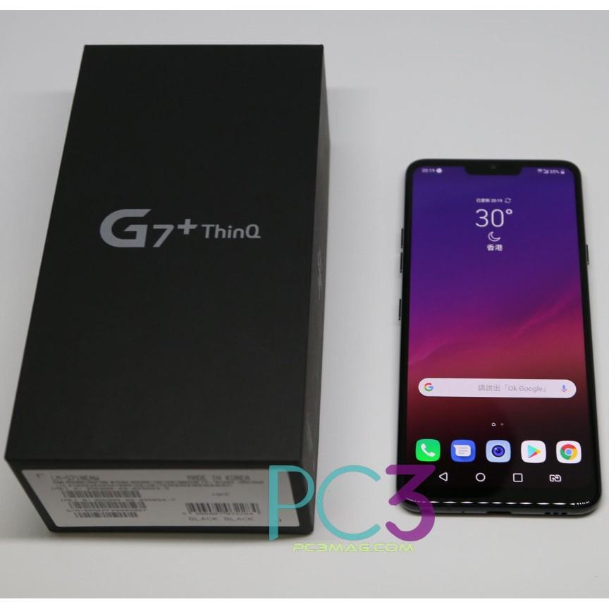 LG G7+ plus ThinQ 6G/128G台規雙卡 保固一年 拆封機  G7+ 6.1吋手機 防塵防水
