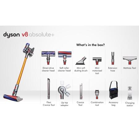 Dyson V8 Absolute+ Plus 豪華無敵大全配版本 10吸頭含收納包  0 直購