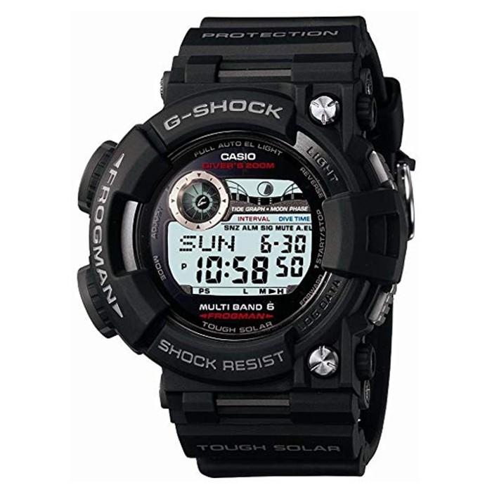 【日本原裝正品】卡西歐 CASIO G-SHOCK 太陽能電波多功能手錶 防水 男錶 經典款 GWF-1000-1JF