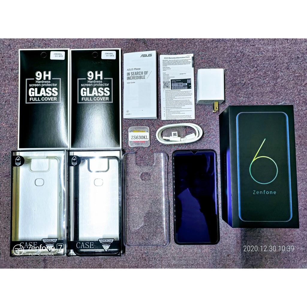 ASUS ZenFone 6 ZS630KL 8GB/512GB 迷霧黑(神腦保固中,可議價)