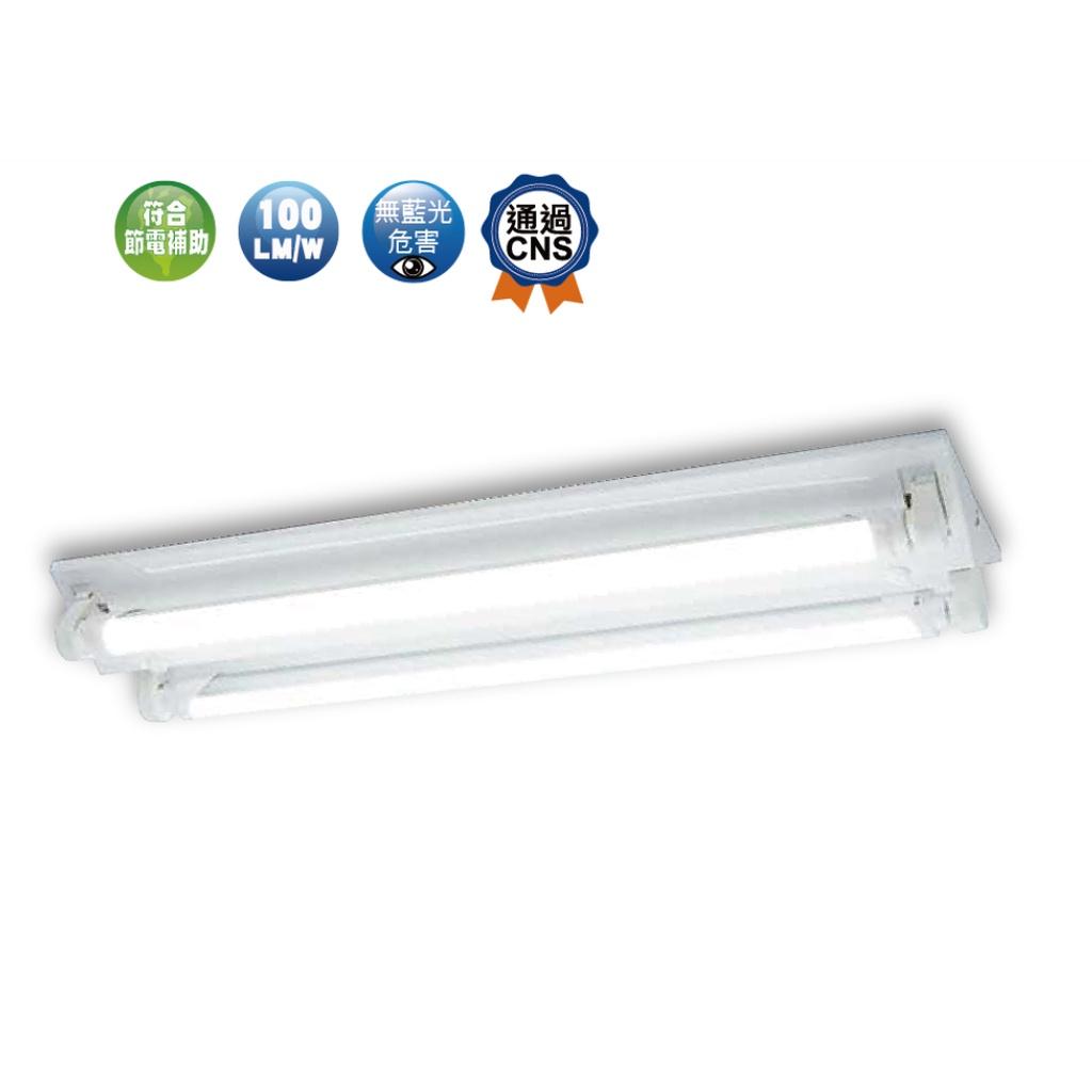 含稅❤️現貨免運❤️【快速出貨】含燈管 T8山型燈具 4尺單管 4尺雙管 2尺單管 2尺雙管 LED燈具 日光燈 山形