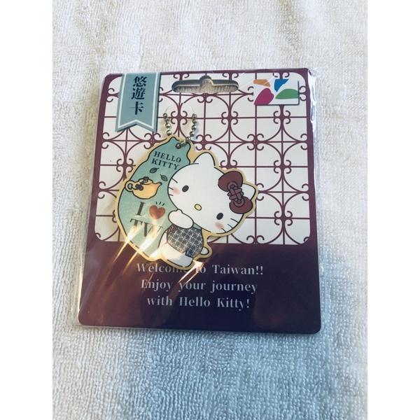Hello Kitty窗花悠遊卡台灣風情一卡通三麗鷗