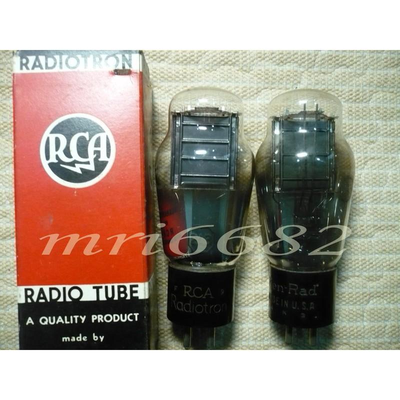 """""""真空管的異想世界"""" NO3 RCA 原裝盒 單屏 吊燈絲 2A3 功率管"""