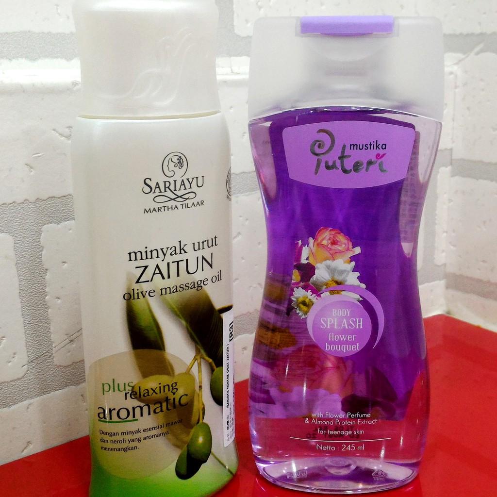 Puteri 245ml Mustika Body Splash Perfume Putri Spray Parfum Cologne Aroma Flower Bouquet 100 Ml