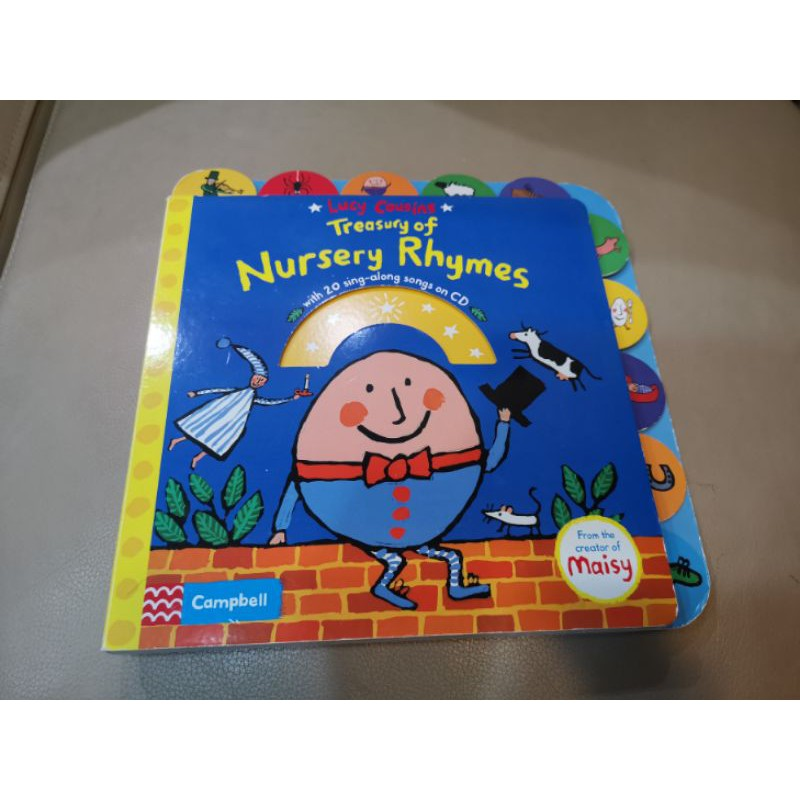 Lucy Cousins Treasury of Nursery Rhymes (童謠硬頁書送1片CD)