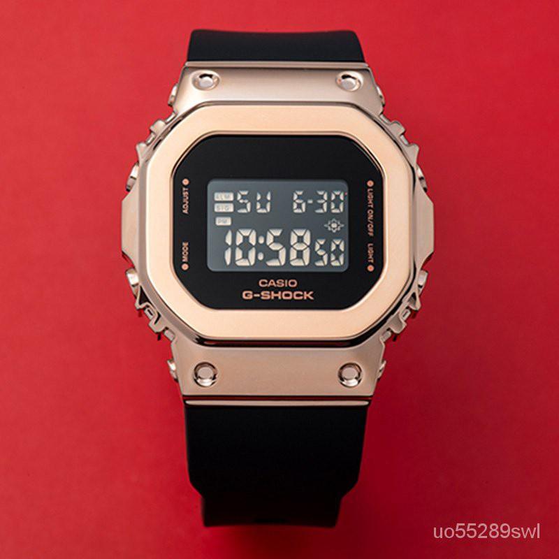 【潮玩卡西歐】卡西歐手錶G-SHOCK GM-S5600PG-1/G-7/4/5600B-1/3