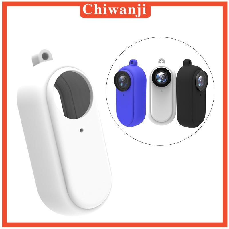 [CHIWANJI] 矽膠套蓋保護器外殼用於Insta360 Go2動作相機
