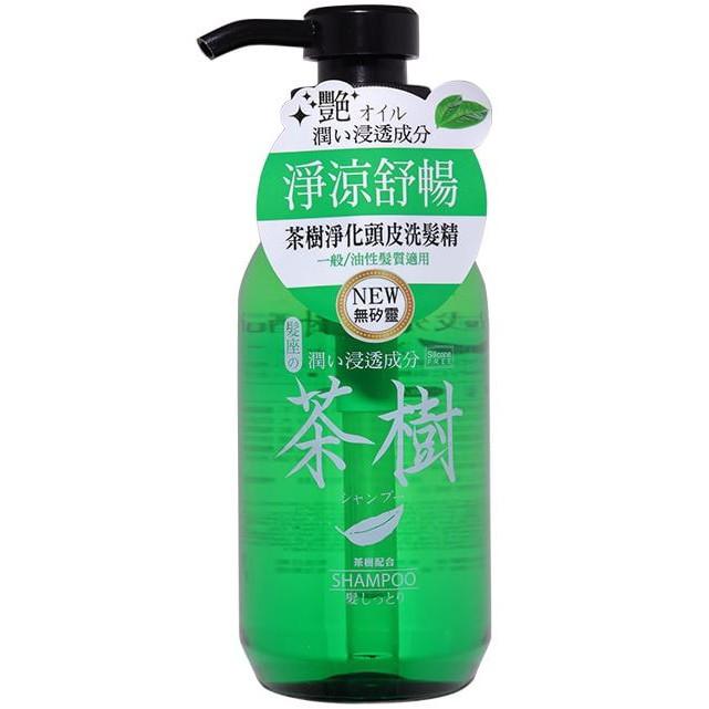 髮座 茶樹淨化頭皮洗髮精300ML【佳瑪】