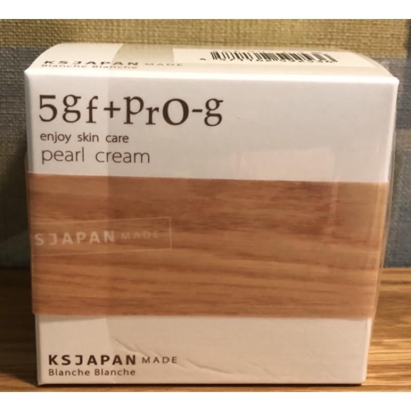[日本代購]光伸免稅店5GF+PRO-G PEARL CREAM保濕精華霜