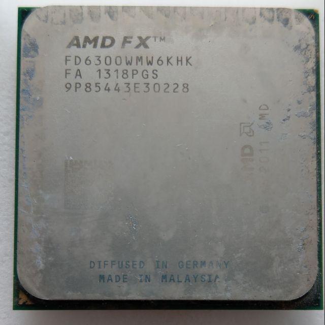 AMD AM3+ 6核心 4核心 FX-6100 FX-6300 FX-4100 FX-4200 FX-4300 推土機
