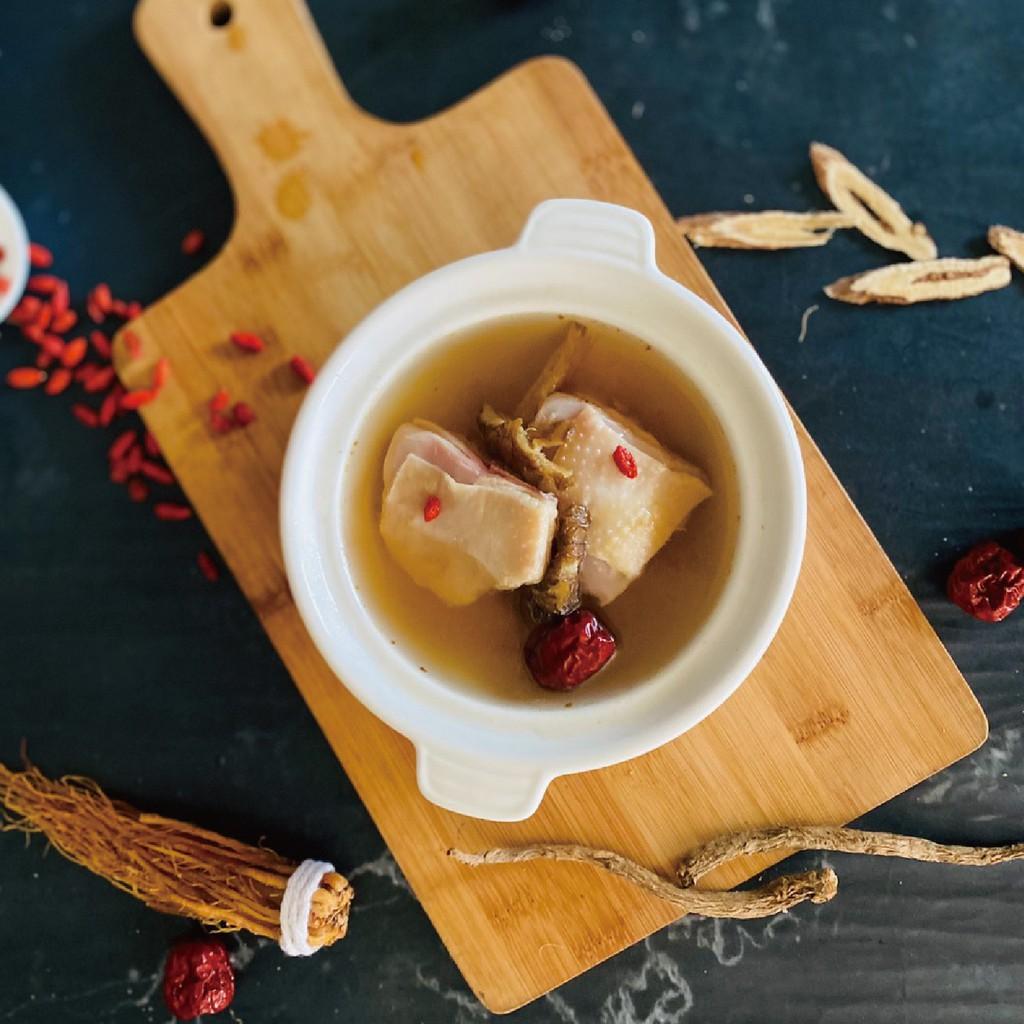【炸去啃】慢熬雞湯系列-藥膳雞湯(小包裝450g)