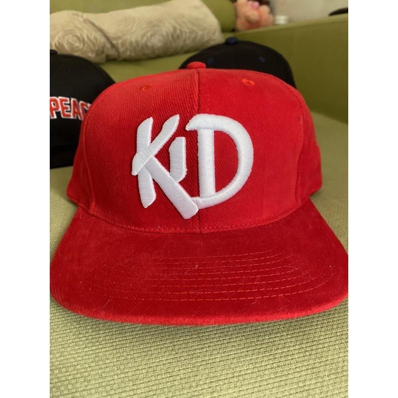 KID地球野人棒球帽 紅