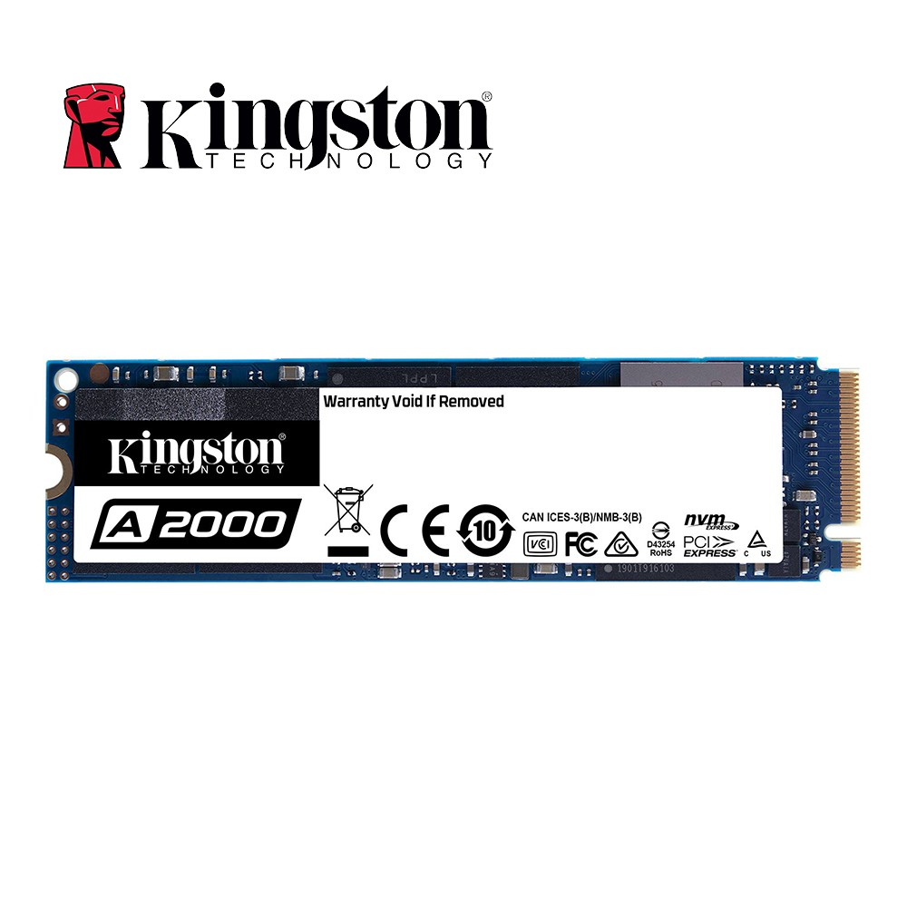 Kingston 金士頓 A2000 500G NVMe PCIe 固態硬碟 (SA2000M8/500G)