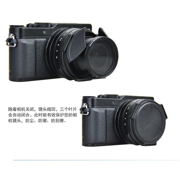 JJC LX100 M2 II Leica D-LUX7 Leica Typ 109 專用 自動鏡頭蓋 賓士蓋 鏡頭蓋