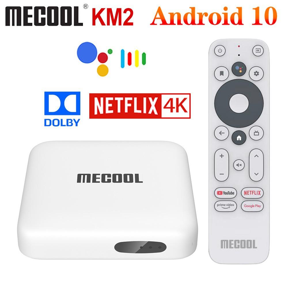 🎁(現貨/預購)MeCool  Android TV 10 播放器 電視盒 機頂盒 Netflix認證 KM2