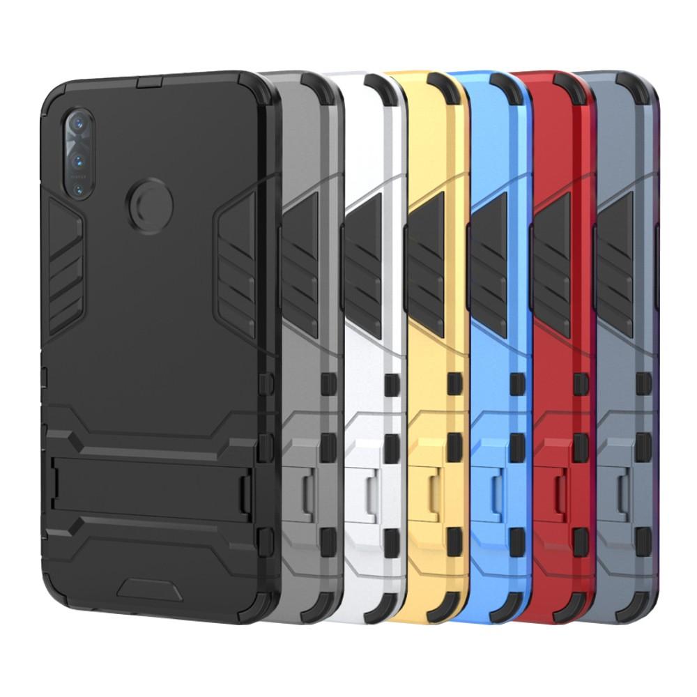 Realme 6 6i 3 Pro 5 Pro XT X50 Pro 5G 雙層保護殼鎧甲盾支架全包手機殼背蓋