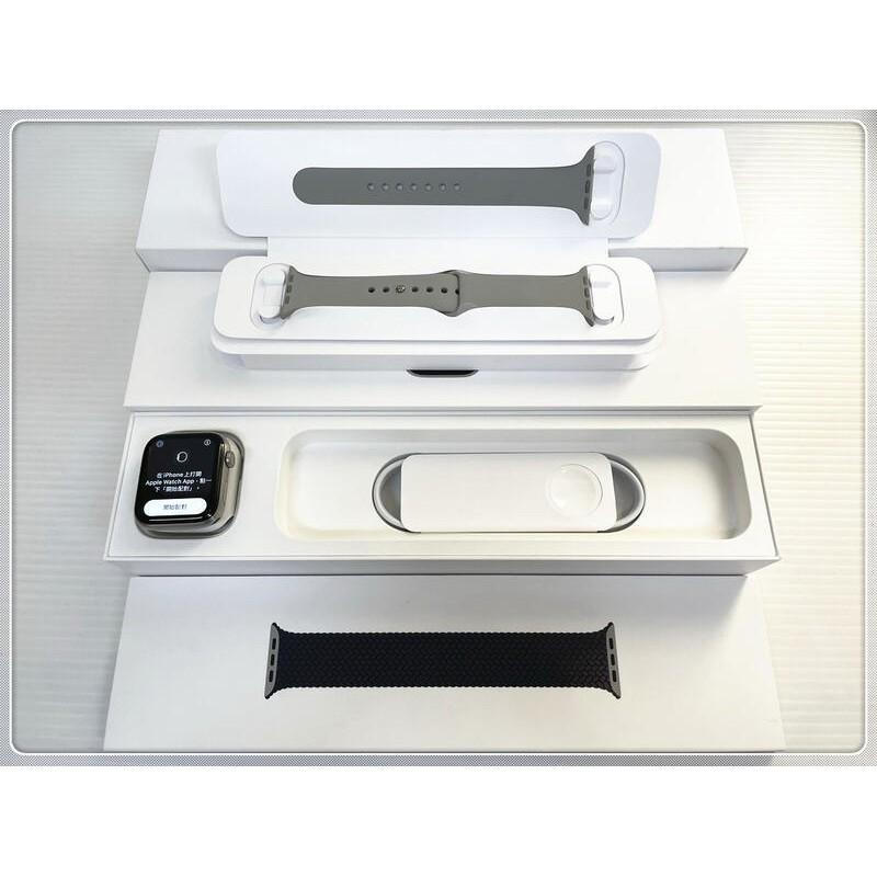 公司貨 Apple Watch 6 Edition 鈦金屬錶殼;編織單圈錶環 LTE版 44mm 二手【刷卡分期0利率】