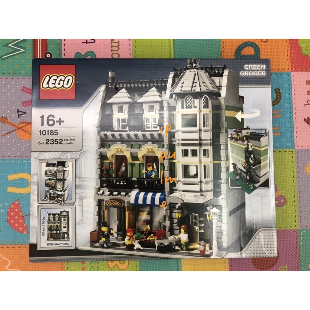 全新未拆 2008 LEGO 樂高 街景系列 10185 Green Grocer 街景三兄弟 10182 10190