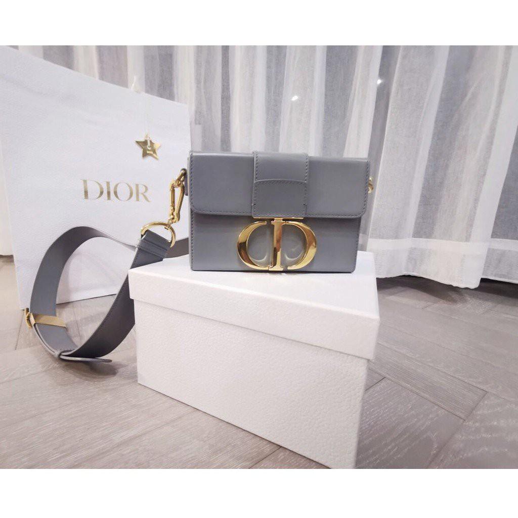 【海外正品代購】全新品 Dior 30 Montaigne mini box 蒙田包 小牛皮 蒙田包 17cm 1JSv