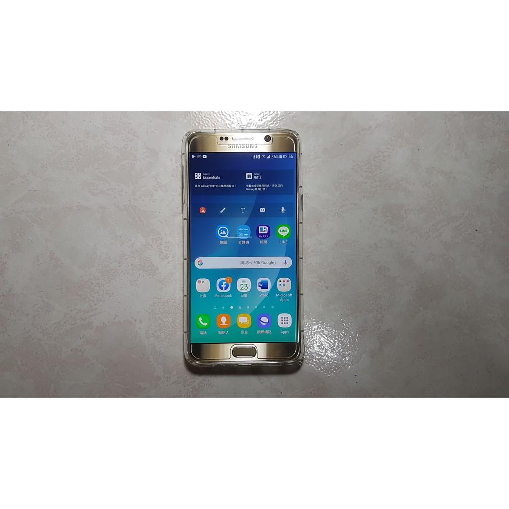 Samsung Galaxy Note 5 64GB 金色 (故障機)
