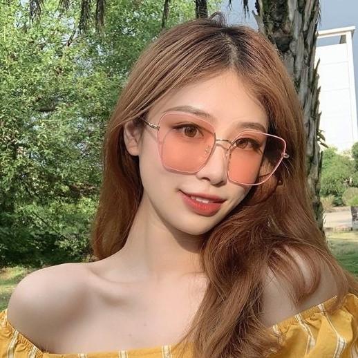 新款復古方形 金屬方框時尚墨鏡 太陽眼鏡 71308