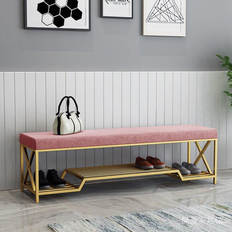 北歐入戶換鞋凳家用進門多功能門口鞋櫃可坐衣帽間凳子簡約穿鞋凳