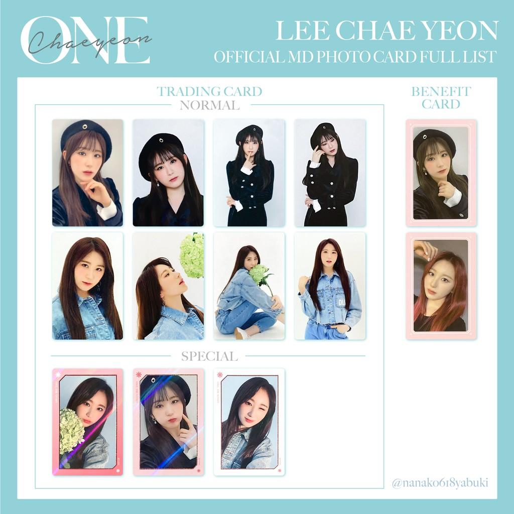 🦋IZ*ONE izone 線上演唱會 ONE,THE STORY 隨機卡 隨機卡包 周邊小卡 閃卡 普卡 彩演 李彩演