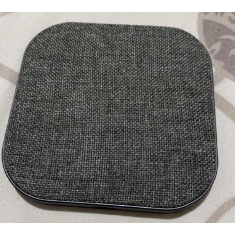 神腦 MEGA KING北歐編織灰 無線充電盤 手機iPhone、AirPods適用