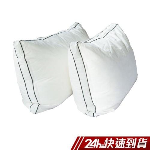 小日常寢居 純棉可水洗雙車邊羽絲絨枕 蝦皮24h
