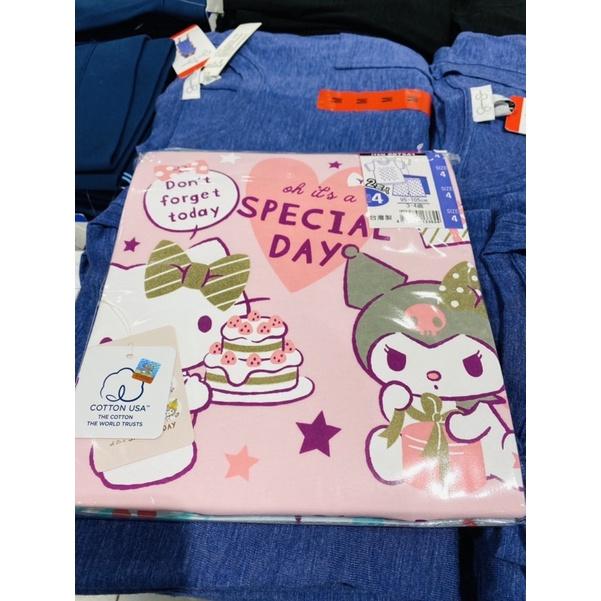 🟢costco好市多代購🟢 一組二套 女童 男童 短袖 純棉套裝Hello Kitty  迪士尼  一組二套✨