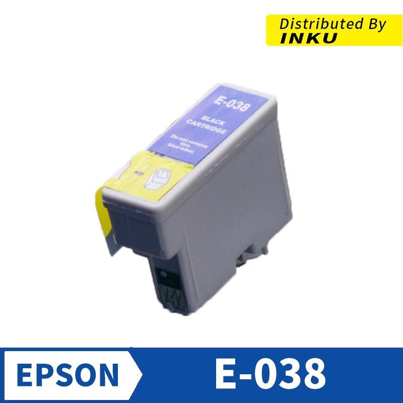 EPSON T038 相容墨水匣 黑色 Stylus C41/C41UX/C43UX[現貨]