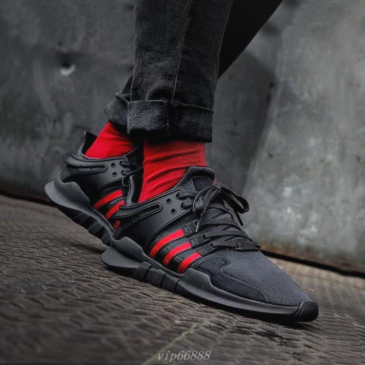 the best attitude 89a63 30309 ADIDAS EQT SUPPORT ADV GUCCI配色 黑紅綠 BB6777 男女尺碼