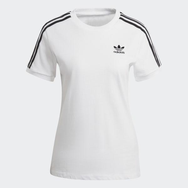 ADIDAS ORIGINALS 3-STRIPES 女款 運動 休閒 短袖上衣 T恤 GN2913 / ED7483
