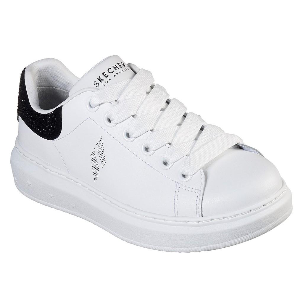 保證正品~2019美版水鑽鞋高3cm明星款記憶鞋墊skechers73707WBK