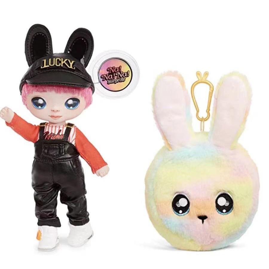 nanana surprise 18cm惊喜娃娃动物公仔包包手脚可动盲盒儿童玩具