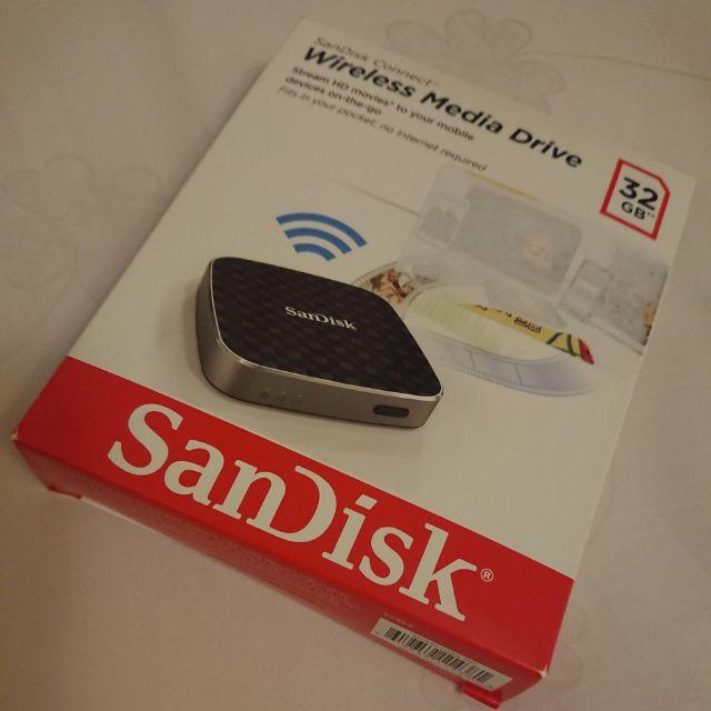 SanDisk無線分享裝置32G