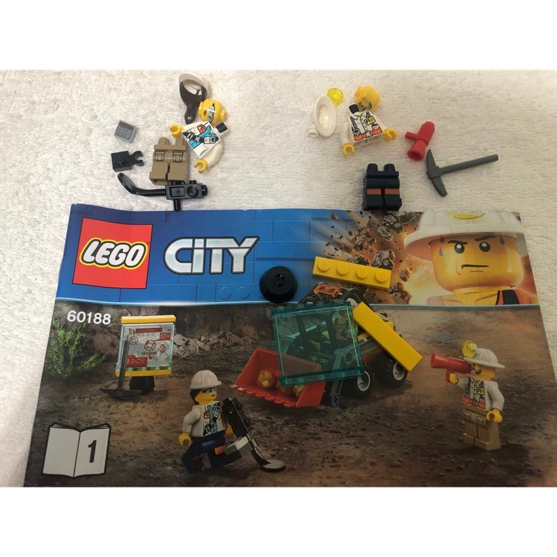 LEGO 60188 人偶
