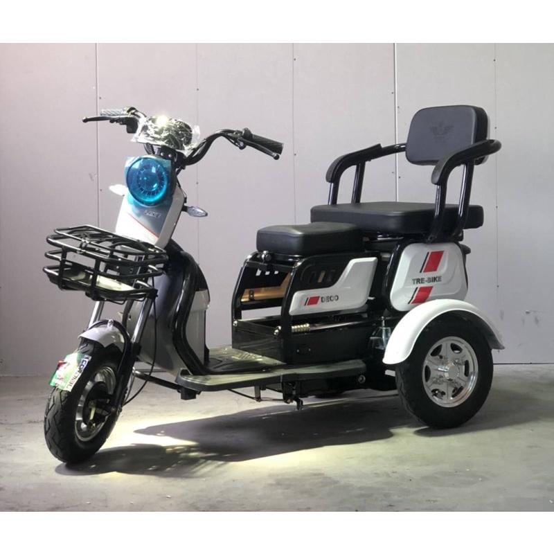 電動車三輪車鋰電款(近全新)載物載人便利