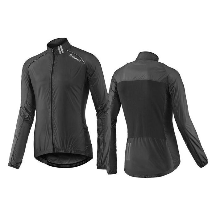 全新 新款 捷安特 GIANT SUPERLIGHT 超輕量風衣 可收納至車衣口袋 黑色
