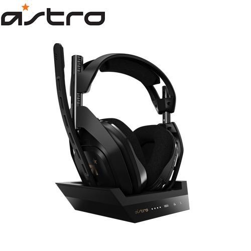 Astro  A50 無線電競耳機麥克風/無線基座控制臺【送羅技透明耳機架】