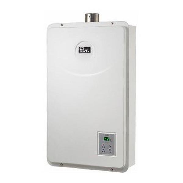 喜特麗16L 水量伺服器 數位恆溫強制排器熱水器 JT-H1652 全機保固三年 天然瓦斯《日成廚衛》